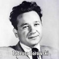 Pożegnanie z Marią – Tadeusz Borowski