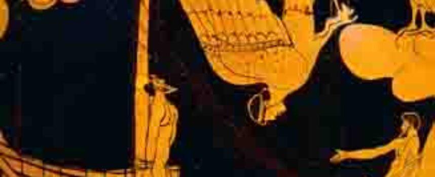 Odyseja. Trasa Odyseusza.