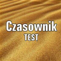 Czasownik TEST