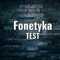 Fonetyka TEST