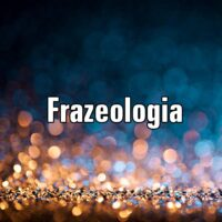 Frazeologia