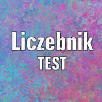 Liczebnik  TEST