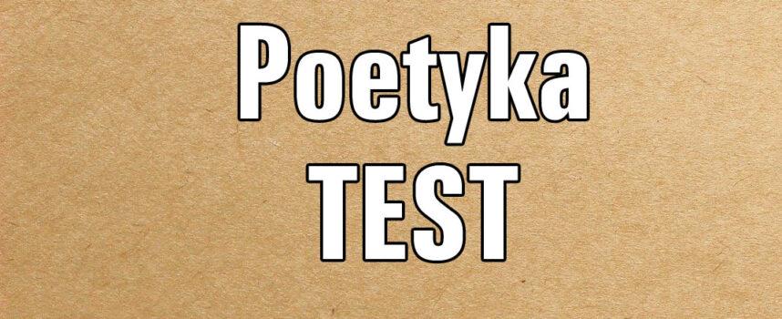 Poetyka TEST