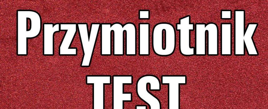 Przymiotnik  TEST