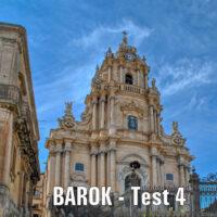 Barok – TEST 4