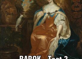 Barok – TEST 3