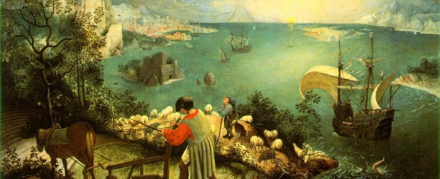 Pieter Bruegel – Upadek Ikara