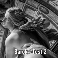 Barok – TEST 2