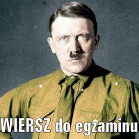Wisława Szymborska – Pierwsza fotografia Hitlera