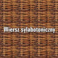 Systemy wiersza polskiego – wiersz sylabotoniczny