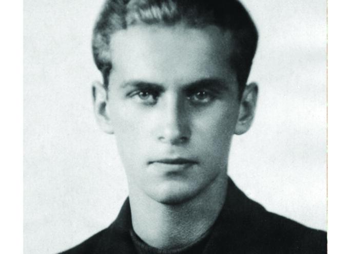 Krzysztof Kamil Baczyński na maturze