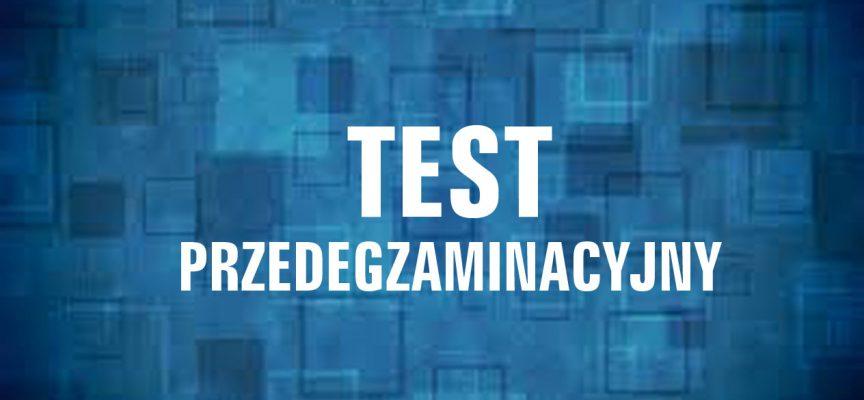 TEST 1 przedegzaminacyjny