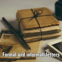 Formal and informall letters