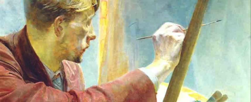 Artysta isztuka – motyw