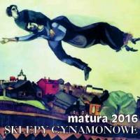Matura 2016  SKLEPY CYNAMONOWE