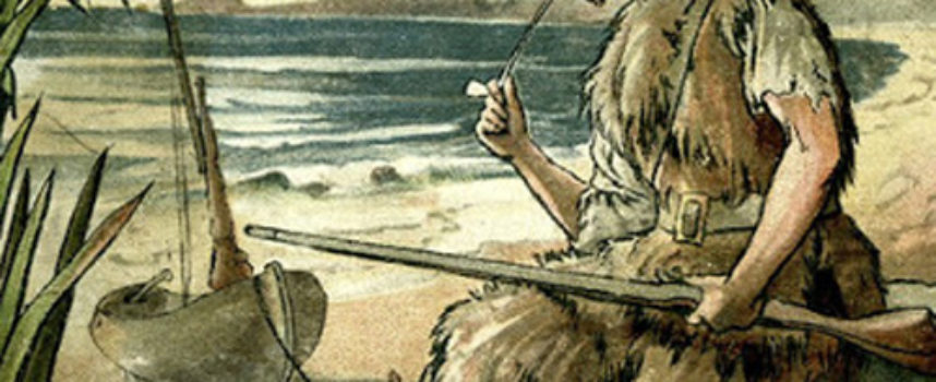 Robinson Crusoe, bohater powieści Daniela Defoe