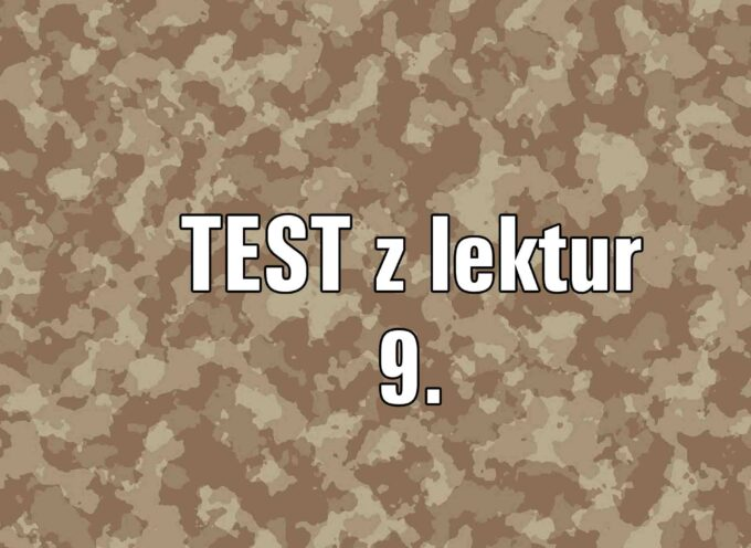 TEST z lektur 9.