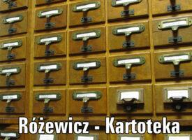 Kartoteka Tadeusza Różewicza