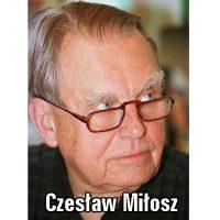 Czesław Miłosz matura
