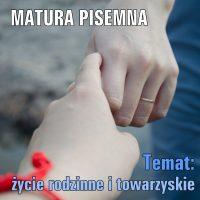 Temat: życie rodzinne i towarzyskie (Families at war)