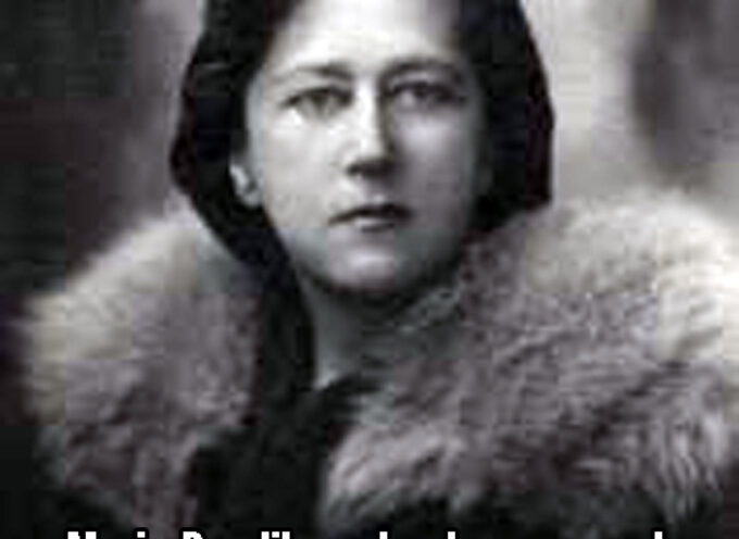 Maria Pawlikowska-Jasnorzewska na maturze