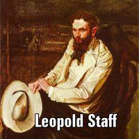 Leopold Staff na maturze