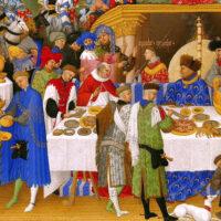 O zachowaniu się przy stole – Słota