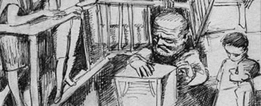 Atmosfera niezwykłości w Sklepach cynamonowych Brunona Schulza (fragment: Labirynty zimowych nocy).