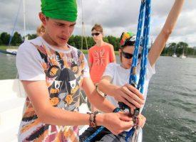 Jacht pełen przygód! Mazurskie wakacje pod żaglami 2018