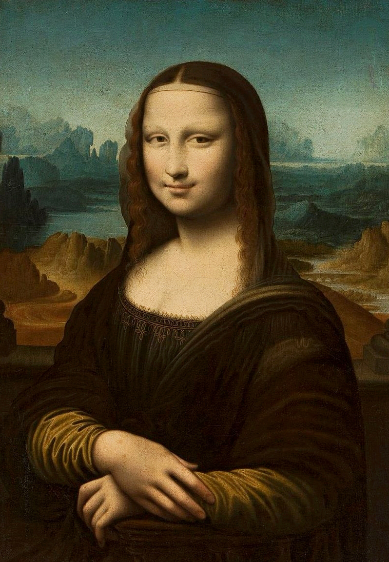 Mona Liza Leonardo Da Vinci Aleklasa