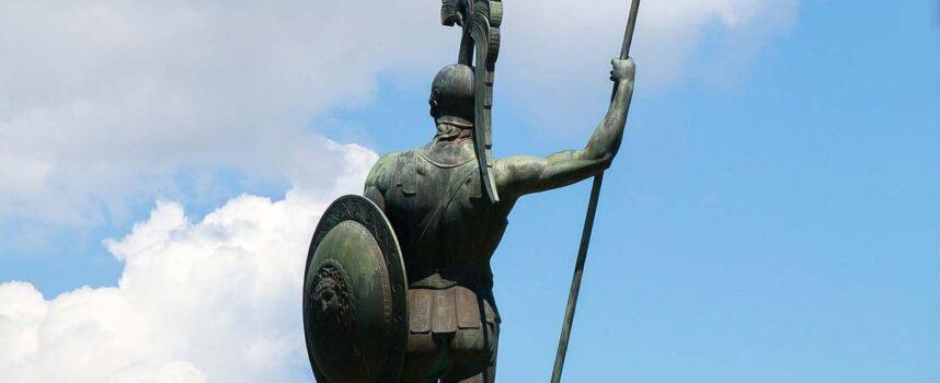 Opis tarczy Achillesa (na podstawie fragmentu Iliady Homera)