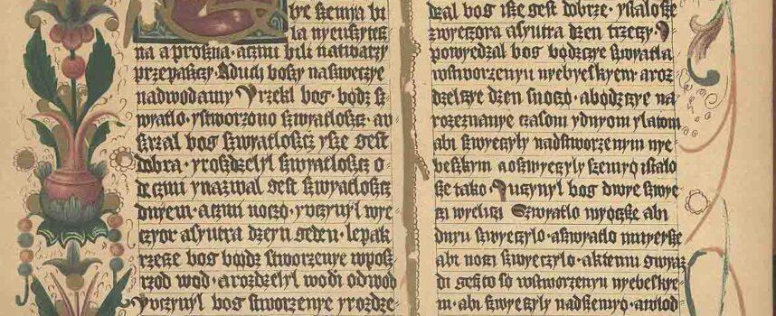 Znaczenie najstarszych zabytków piśmiennictwa polskiego