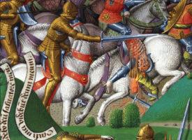 Słynne sceny śmierci w literaturze antyku i średniowiecza. Spróbuj je porównać.
