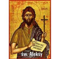 Udowodnij, że życie świętego Aleksego wpisuje się w schemat gatunku zwanego legendą.