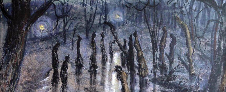 Opisz obraz Stanisława Wyspiańskiego pt. Chochoły. Czy wiesz coś o okolicznościach jego powstania?