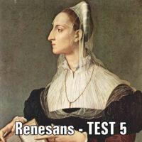 Renesans – TEST 5