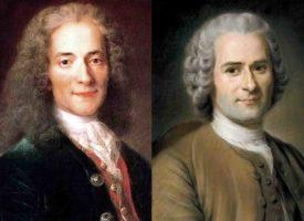 Wolter, Jan Jakub Rousseau – dwa wielkie umysły epoki oświecenia